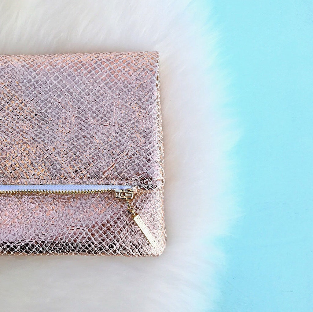 The Rosie Foldover Clutch