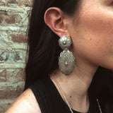 Love Tokens Vintage Concho Earrings