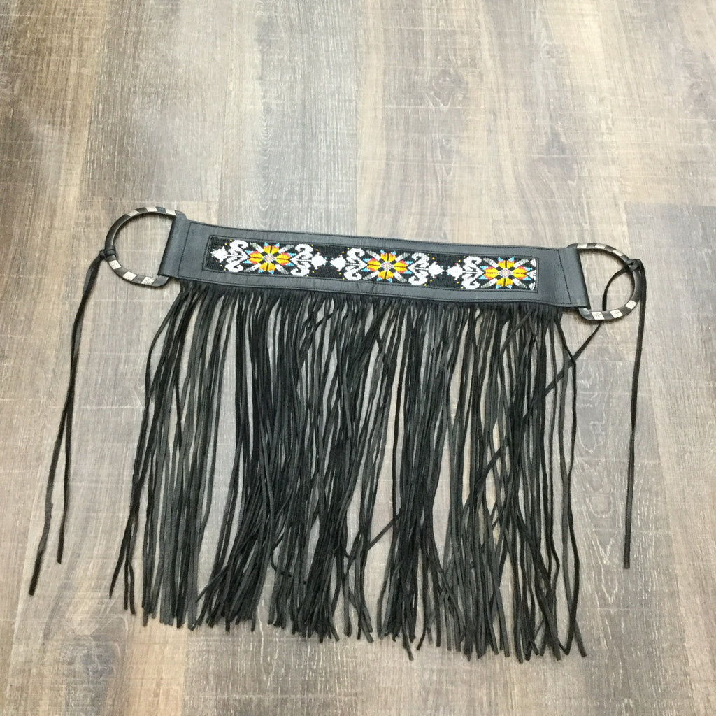 Beaded Fringe Belt