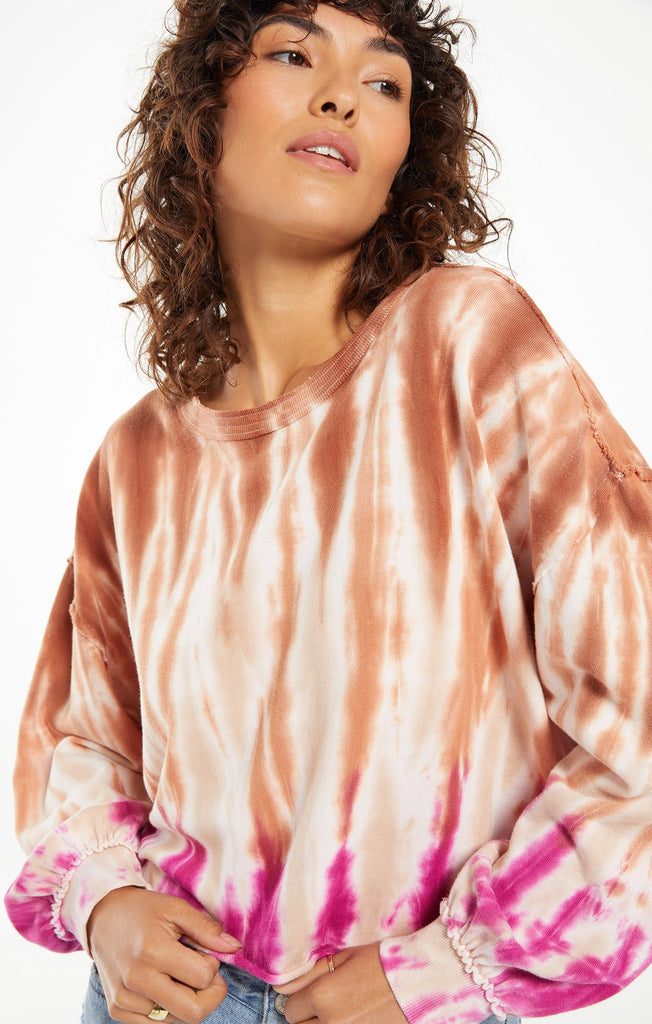 Z Supply Tempest Tie Dye Pullover