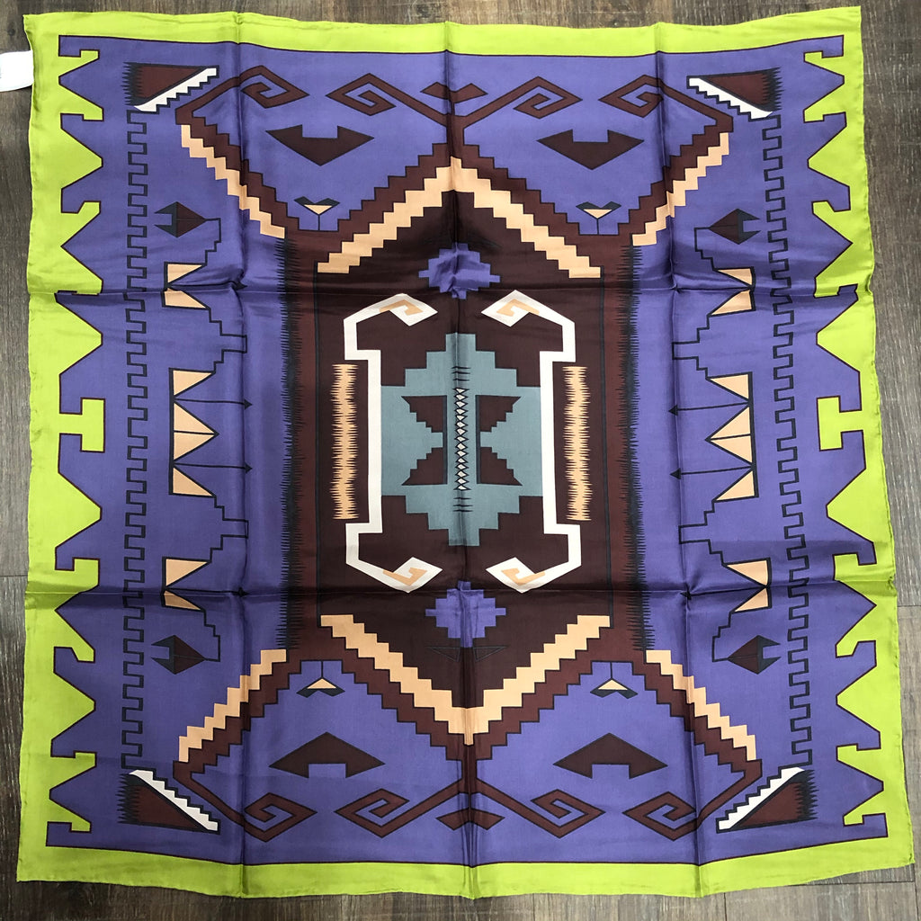 Southwest Purple Lime Wild Rag