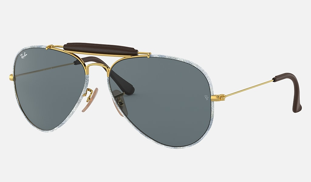 Ray Ban Outdoorsman Craft Blue