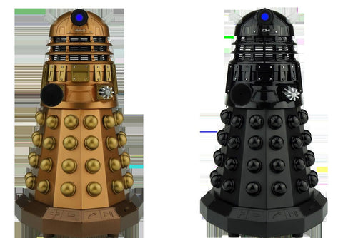 Doctor Who Assault Dalek and Dalek Sec Bluetooth Speaker Bundle