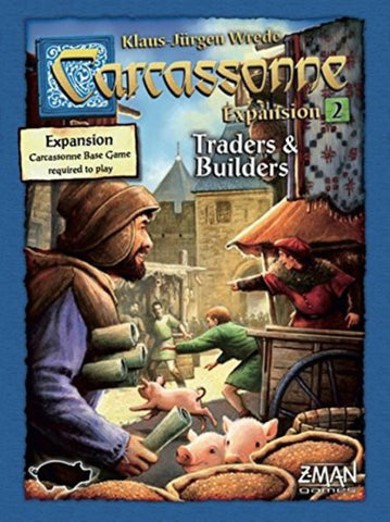 Carcassonne Expansion 2: Traders and Builders New Edition