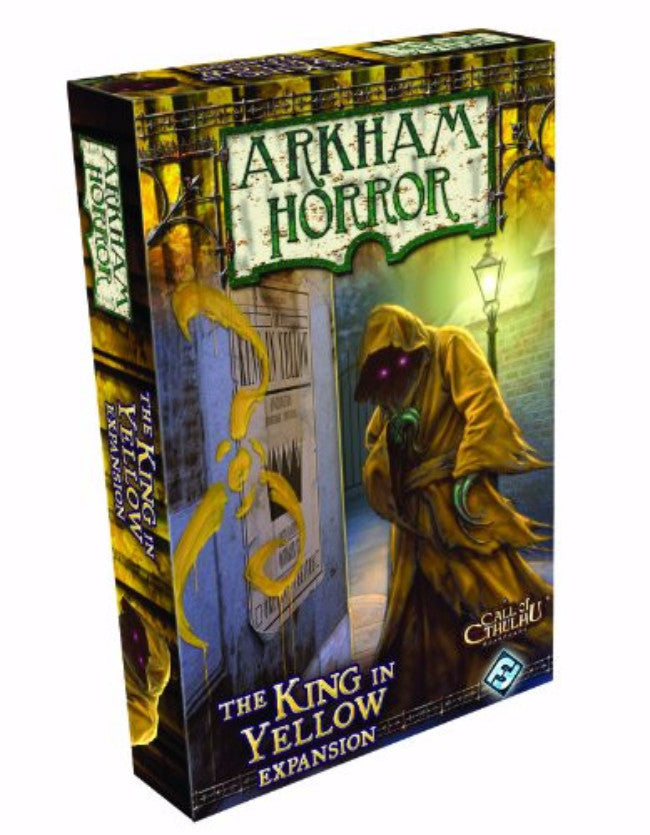 Arkham Horror: The King in Yellow Expansion