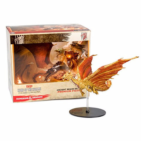 D&D Miniature Figurines - Ancient Brass Dragon