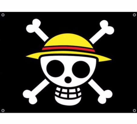 Flag: One Piece - Straw Hat Pirates Flag (Wall Art)