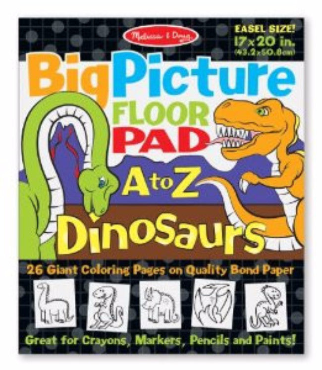 Big Picture Floor Pad A-Z - Dinosaurs