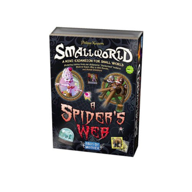 Small World - A Spider's Web : Days Of Wonder Expansion