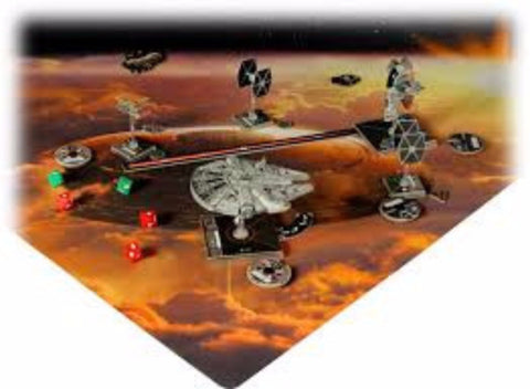 Star Wars X-Wing: Bespin Playmat