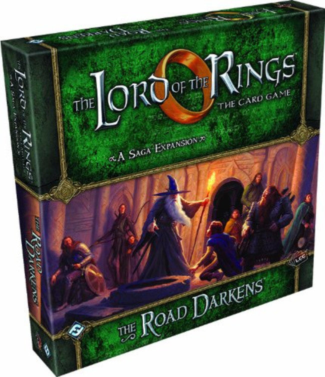 Lord of The Rings LCG: The Road Darkens Saga Expansion [Toy]