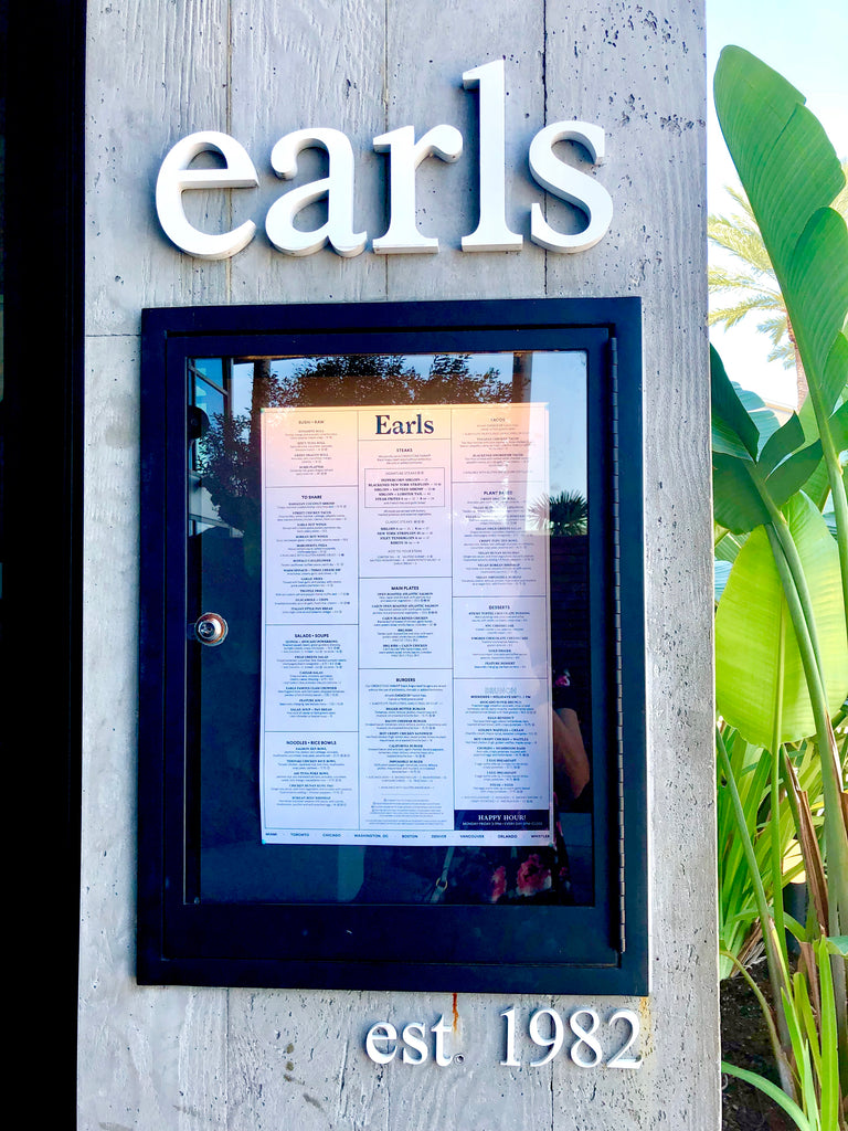 Earl's Restaurant and Bar - Millenia Mall - Orlando, FL May 31, 2019