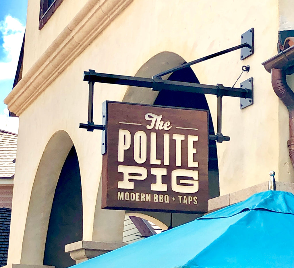 The Polite Pig Review - Disney Springs - Walt Disney World - July 23, 2019