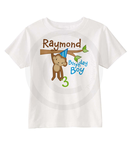 Monkey Birthday Shirt Boy 3 01062014a ThingsVerySpecial