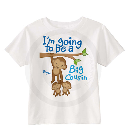 Big Cousin of Twins Shirt for Boys | 01172014a | ThingsVerySpecial