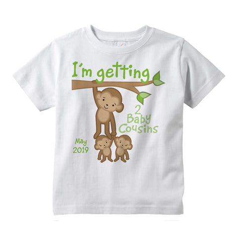I'm getting two Baby cousins Tee shirt with Due date 01212016b