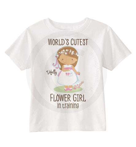 Flower girl In training Shirt