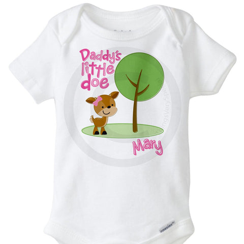 Daddy's Little Doe Onesie Bodysuit