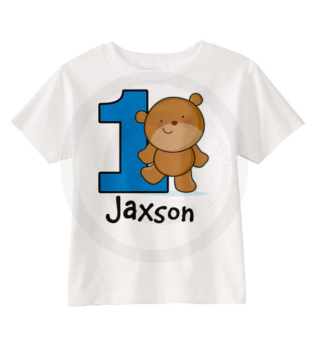 Teddy Bear Birthday Shirt 03222016e ThingsVerySpecial