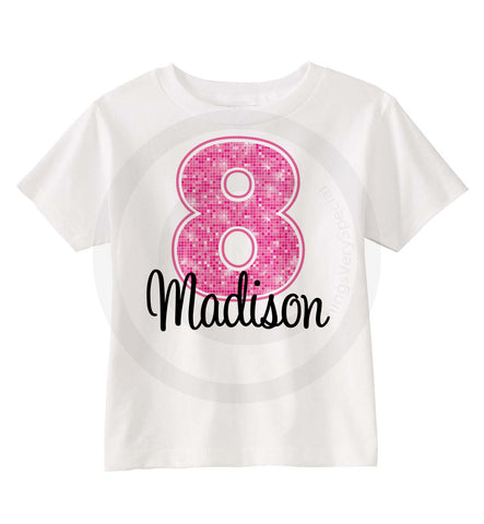 Eighth Pink Birthday Shirt 05102013a ThingsVerySpecial
