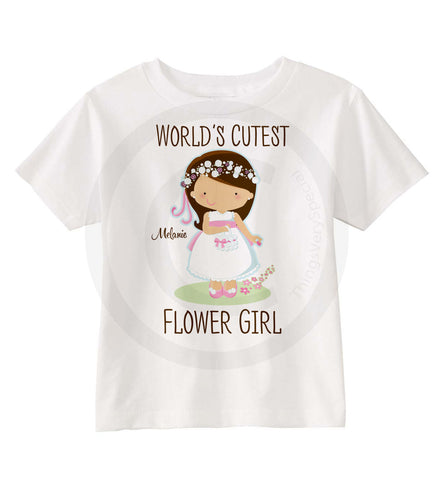 Flower Girl Shirt Personalized 06052015f ThingsVerySpecial