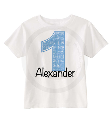 Light Blue Number Birthday Shirt for Boys 1 06202012a ThingsVerySpecial