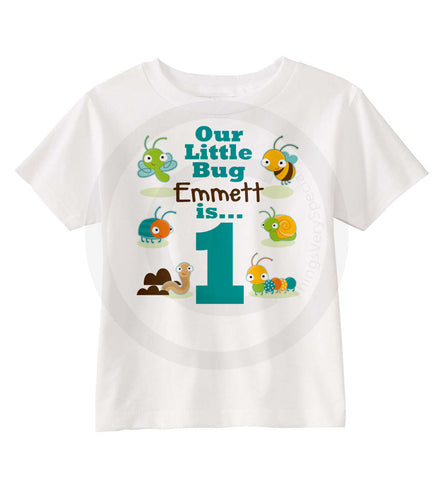 Birthday Shirt With Bugs For Boys 06202014a ThingsVerySpecial