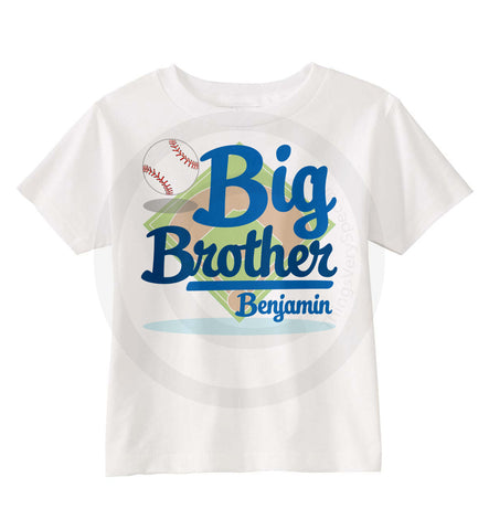 Big Brother Baseball Shirt 07012015e ThingsVerySpecial