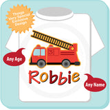 Fire Engine Birthday Shirt for Boys 07162012a ThingsVerySpecial