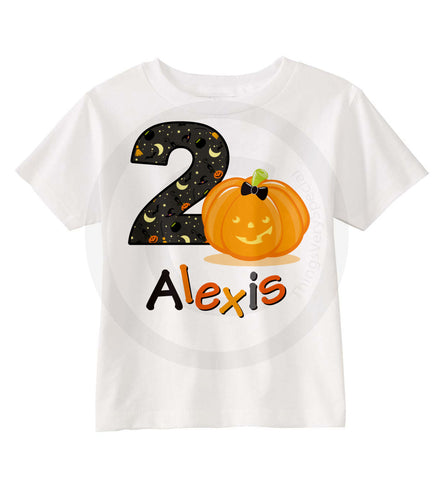 Halloween Birthday Shirt 07282014g ThingsVerySpecial