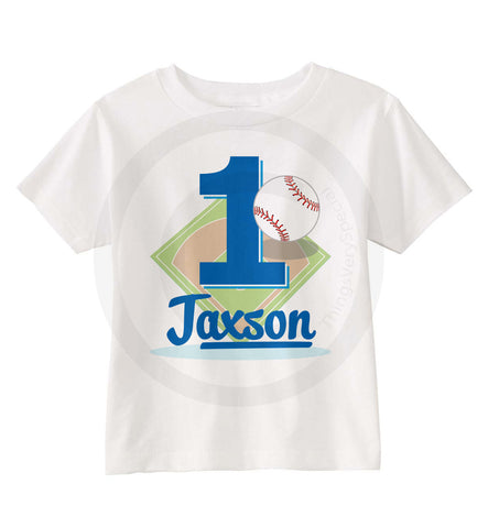 Baseball Birthday Shirt for Boys 09022015i ThingsVerySpecial