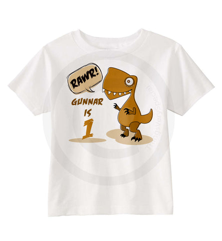 Dinosaur Birthday Shirt 09192016c ThingsVerySpecial