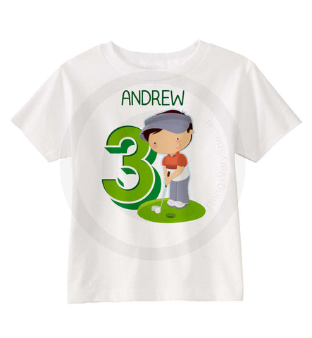 Golf Birthday Shirt for boys 09252015d ThingsVerySpecial