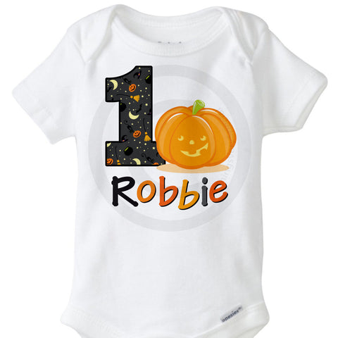 Halloween Birthday Onesie Bodysuit | 10022012b | ThingsVerySpecial