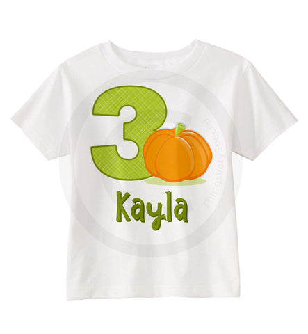 Pumpkin Birthday Shirt 10082014o ThingsVerySpecial