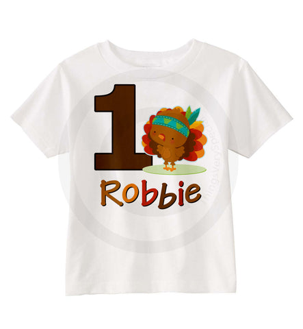 Thanksgiving Birthday Party Shirt 11052015a ThingsVerySpecial