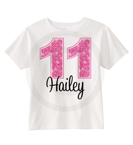 Birthday Shirt For 11 Year Old Girl 11242014b