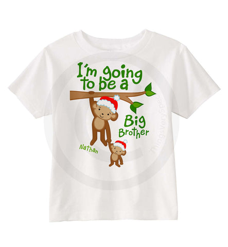 Christmas Theme Big Brother Shirt 11262012a ThingsVerySpecial