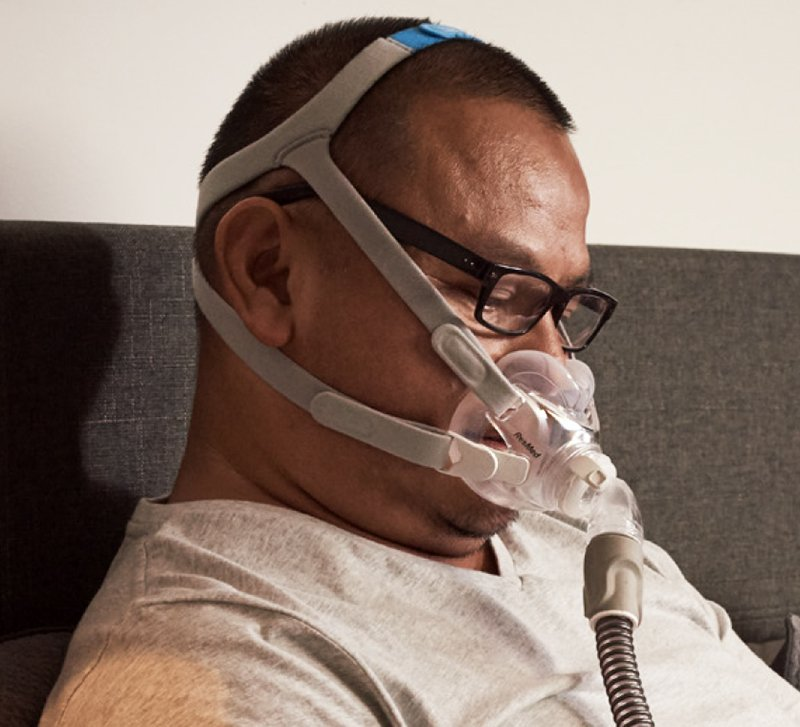 AirFit F30 Full Face CPAP Mask with Headgear