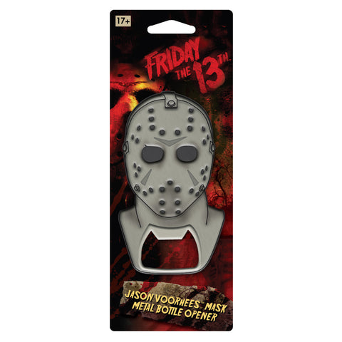 Metal Bottle Opener: Friday The 13th - Jason Mask
