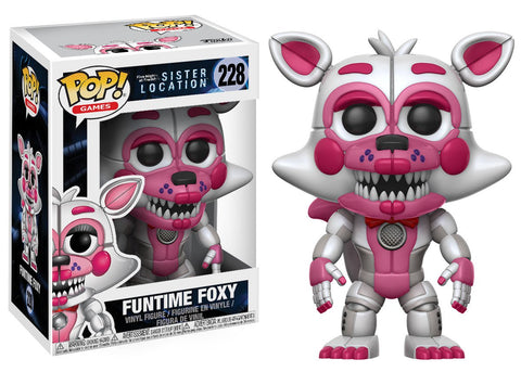 POP! Games Vinyl Figure: Five Nights at Freddy's Sister Location - Funtime Foxy