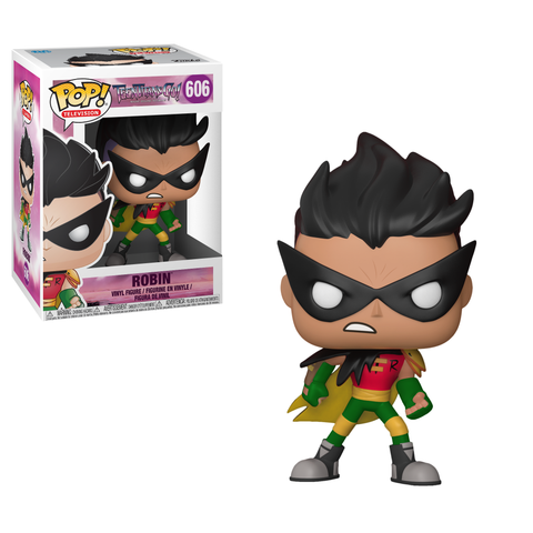 POP! TV Vinyl Figure: Teen Titans Go! - Robin