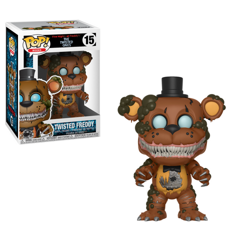 POP! Books Vinyl Figure: Five Nights at Freddy's - Twisted Freddy