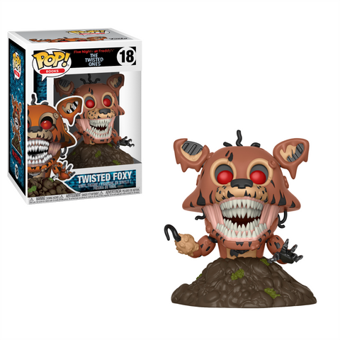 POP! Books Vinyl Figure: Five Nights at Freddy's - Twisted Foxy
