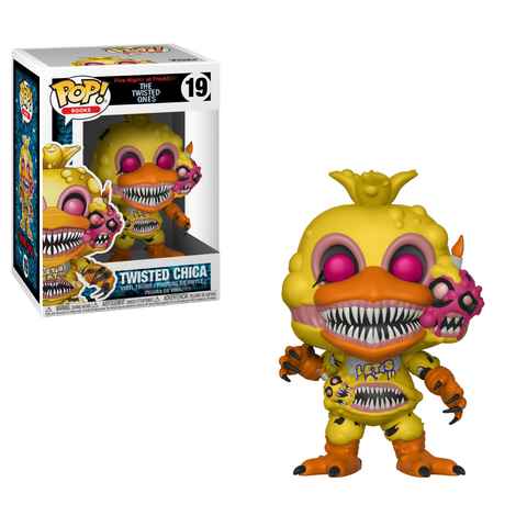 POP! Books Vinyl Figure: Five Nights at Freddy's - Twisted Chica
