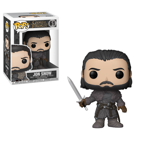 POP! Game of Thrones Vinyl Figure: Jon Snow (Beyond the Wall)