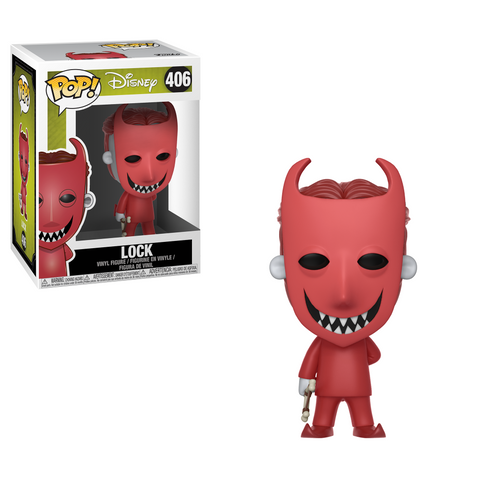POP! Movies Vinyl Figure: Nightmare Before Christmas - Lock