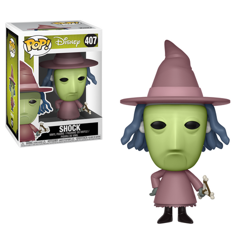POP! Movies Vinyl Figure: Nightmare Before Christmas - Shock