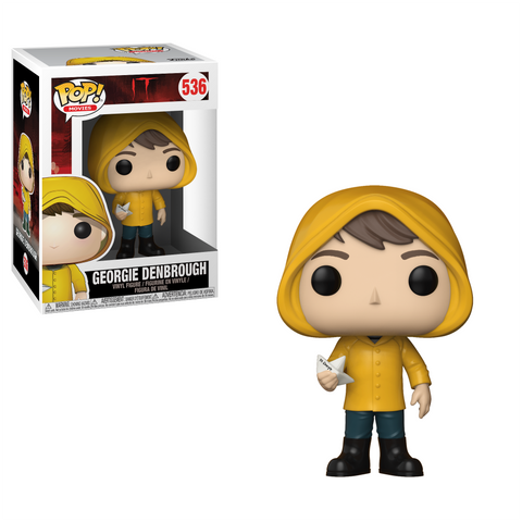 POP! Movies Vinyl Figure: Georgie with Boat (Stephen King's IT)