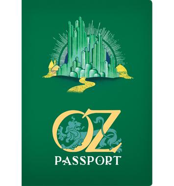 Pocket Notebook: Oz Passport